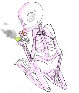 Day 7- Friendly Skeleton