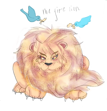 Day 6- The Fire Lion